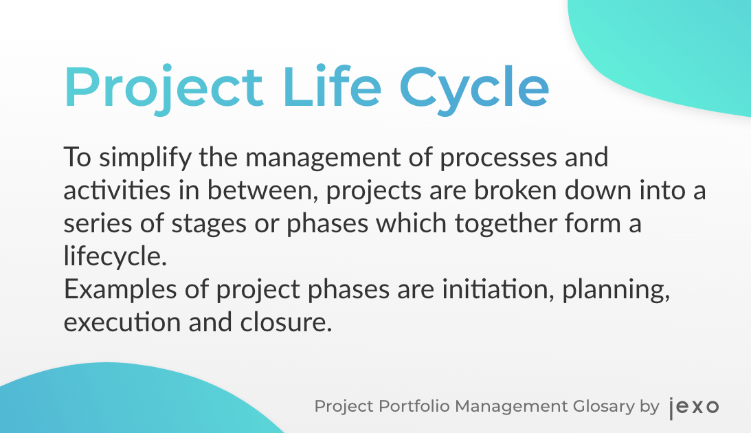 Definition: What is Project Life Cycle?