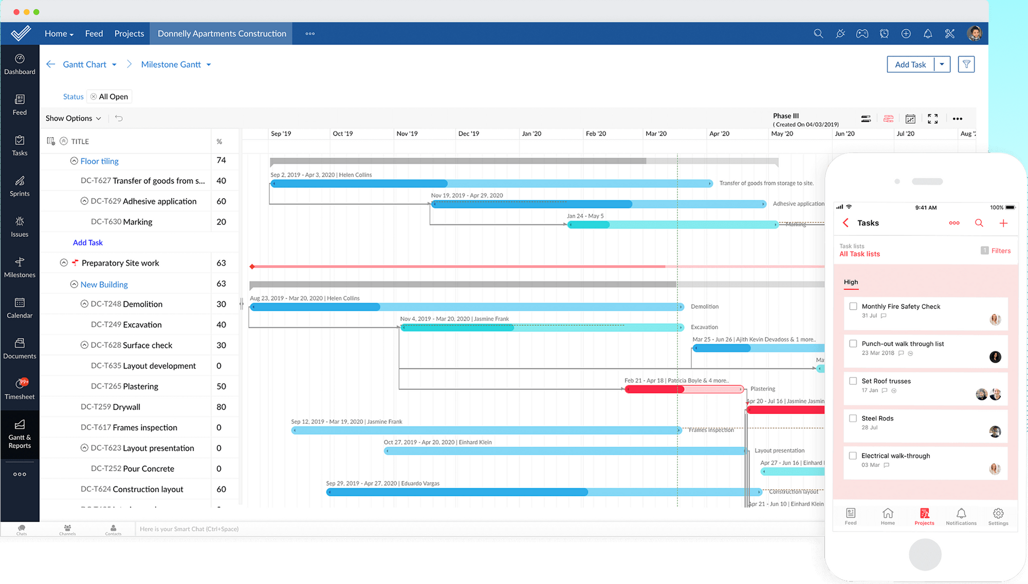 Zoho Sprints - Product management tool with roadmap