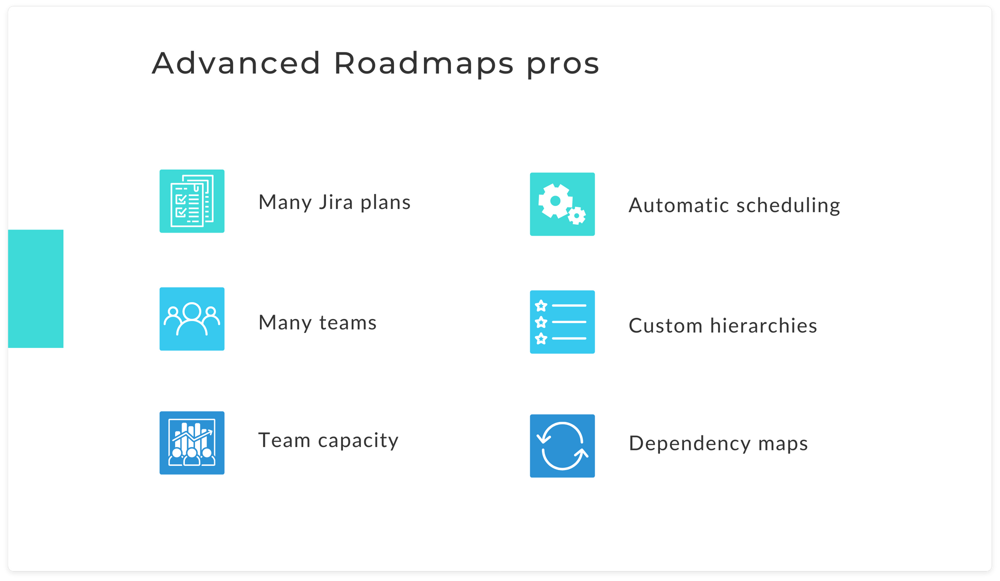 The pros of using Advanced Roadmaps for Jira