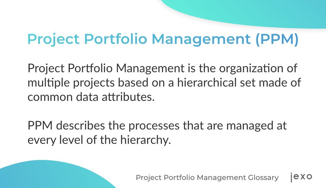 Definition - What is a project portfolio management?