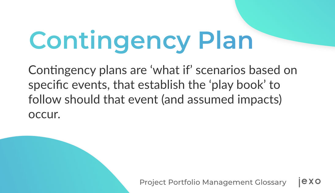 Definition: What is Contingency plan?