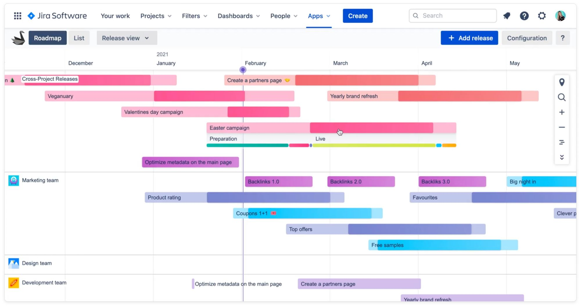 Track marketing campaigns phases in Jira using Swanly app