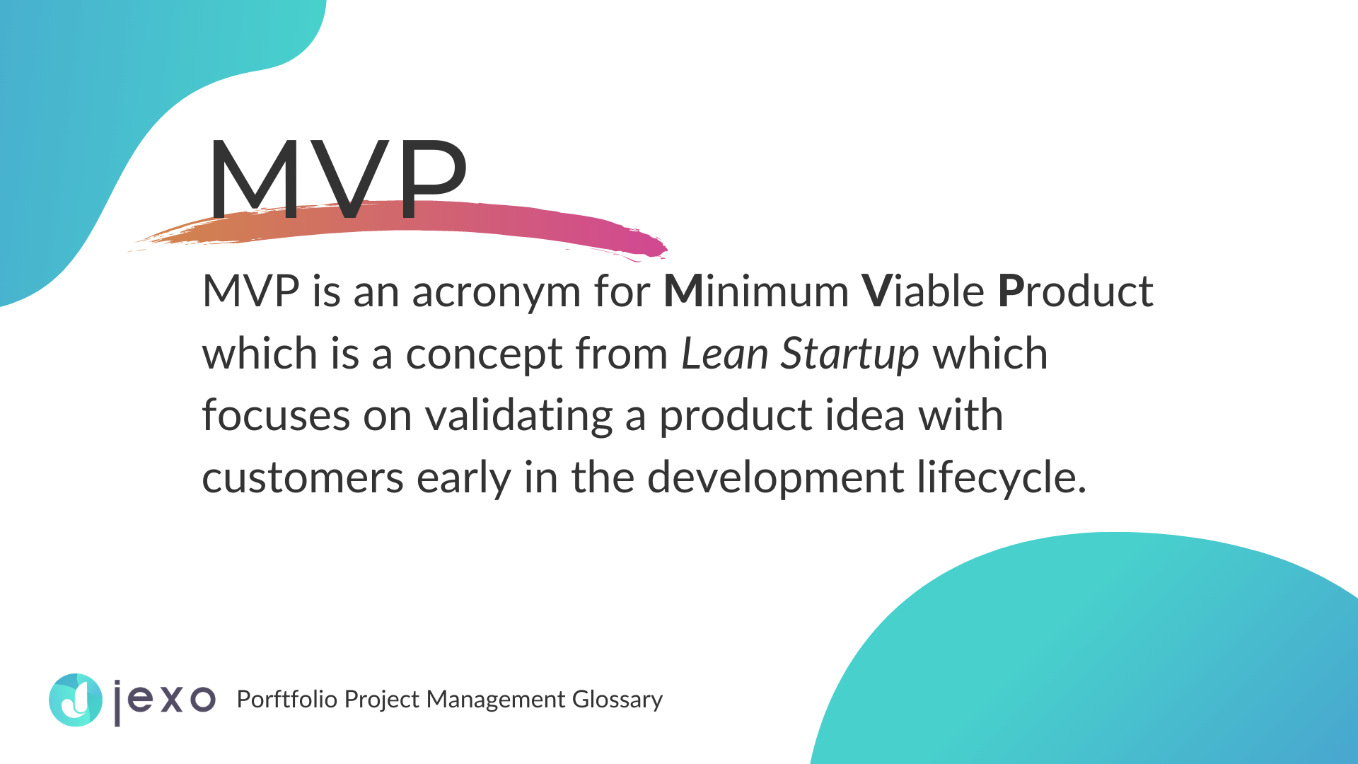 Definition: What is MVP in project management?