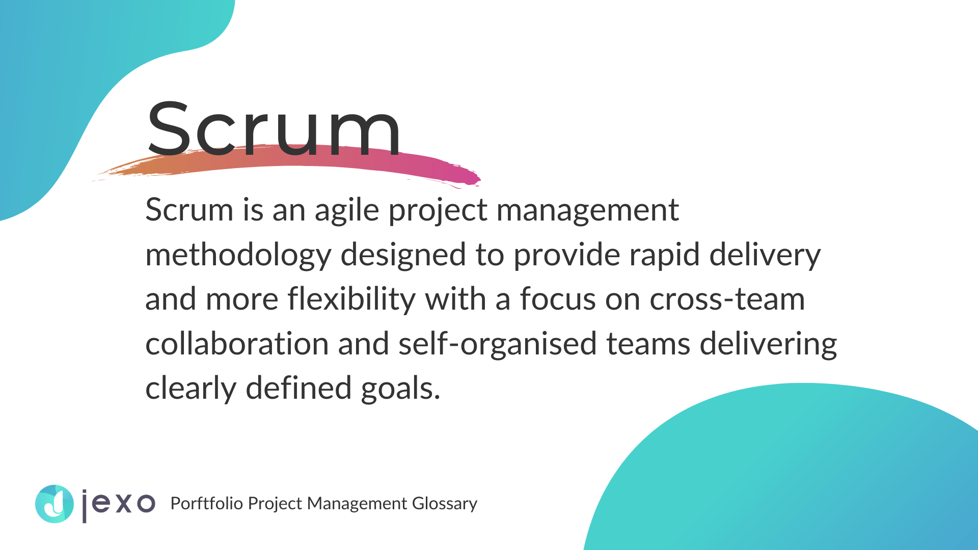 Definition: What is Scrum in project management?
