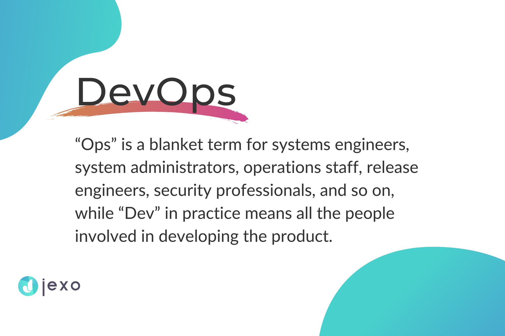 The meaning of DevOps