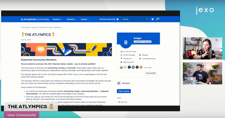 A new Atlassian community initiative - The Atlympics