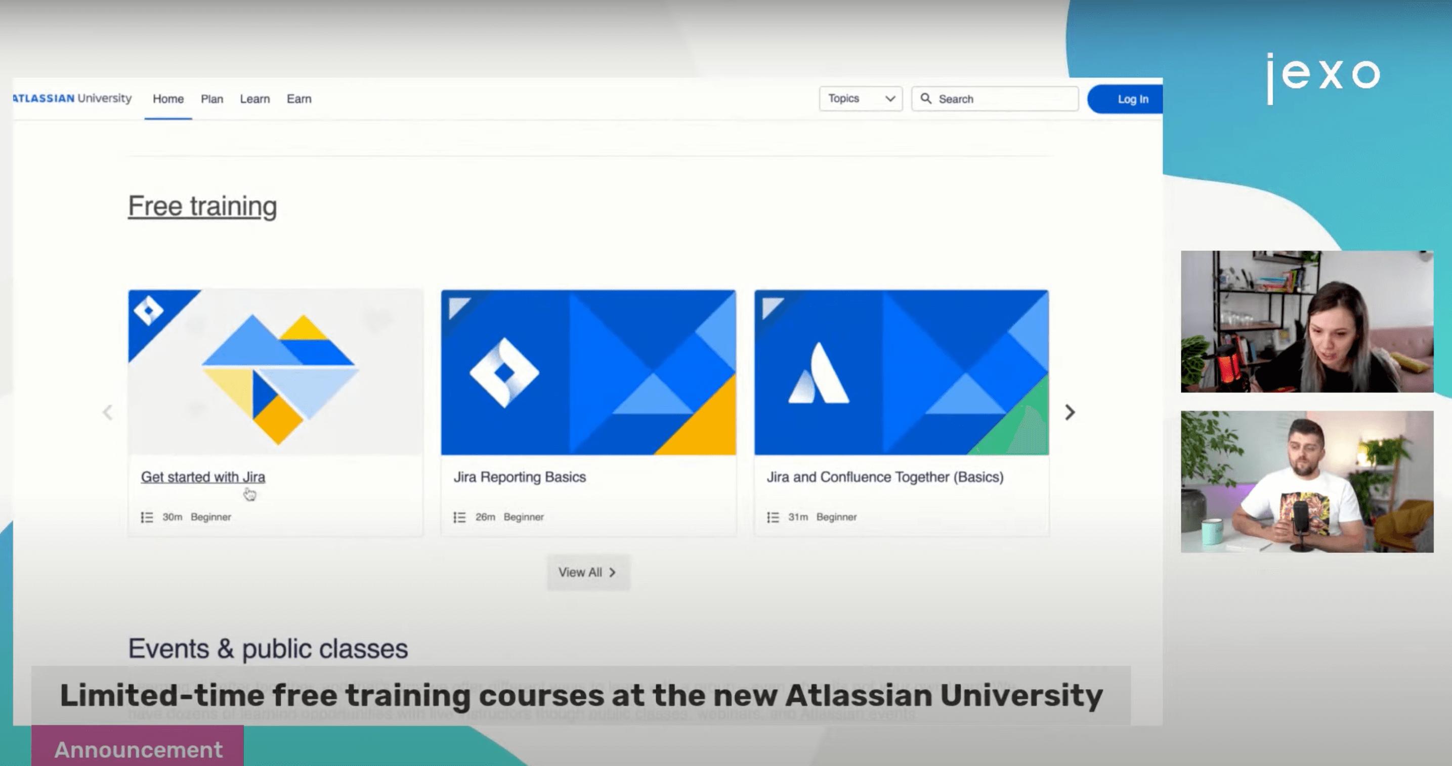 Free Atlassian courses in the new Atlassian university