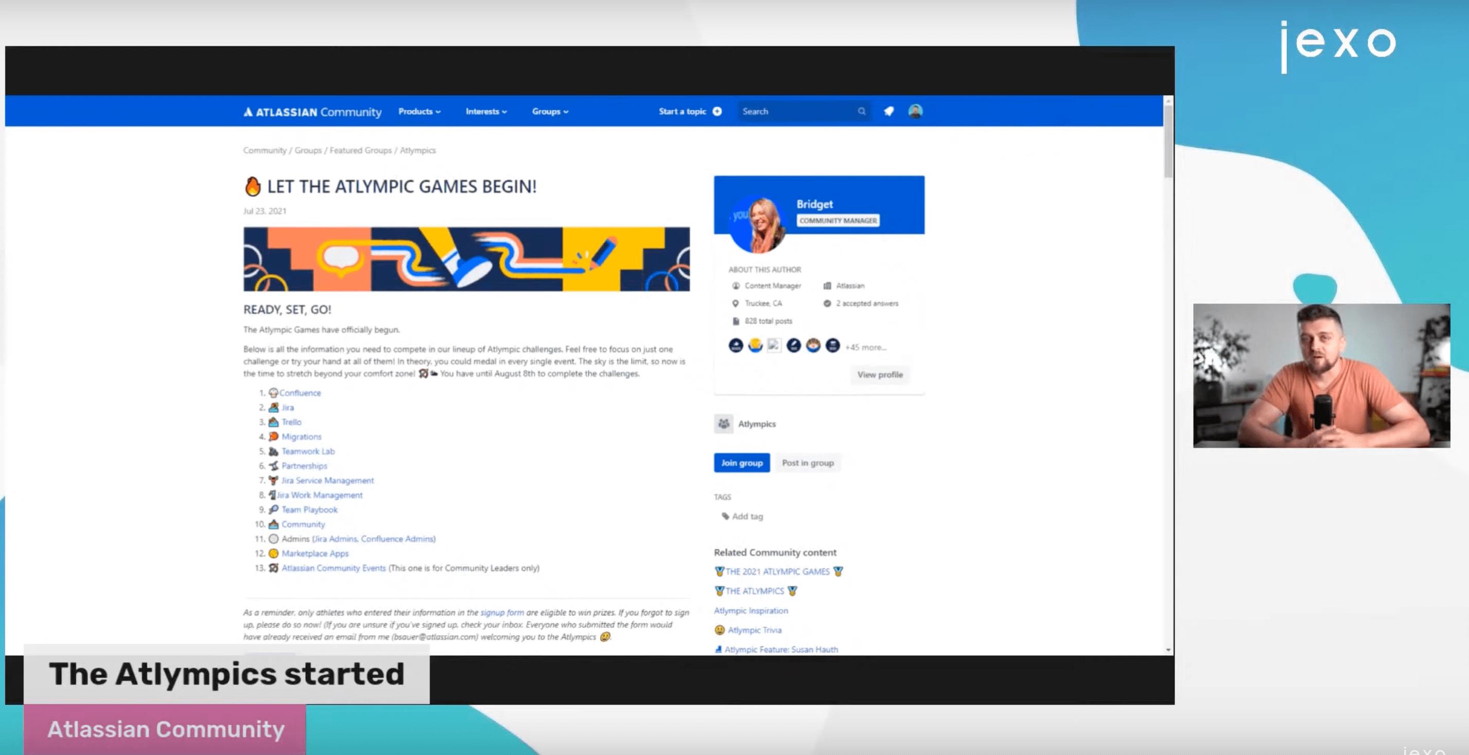 Atlassian News: The Atlympics user community games are on!