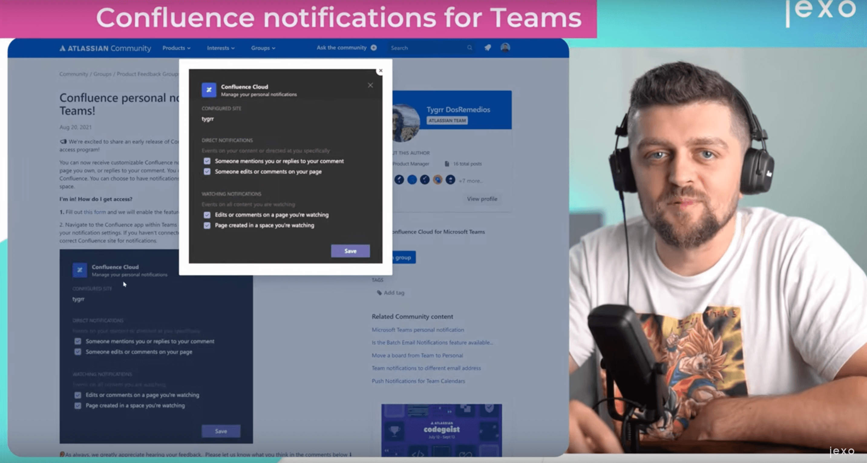 Atlassian news: Confluence notifications for Teams are in Beta!