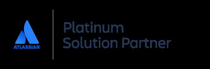 Platinum Atlassian Solution Partner badge