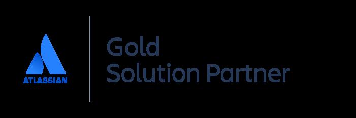 Gold Atlassian Solution Partner badge