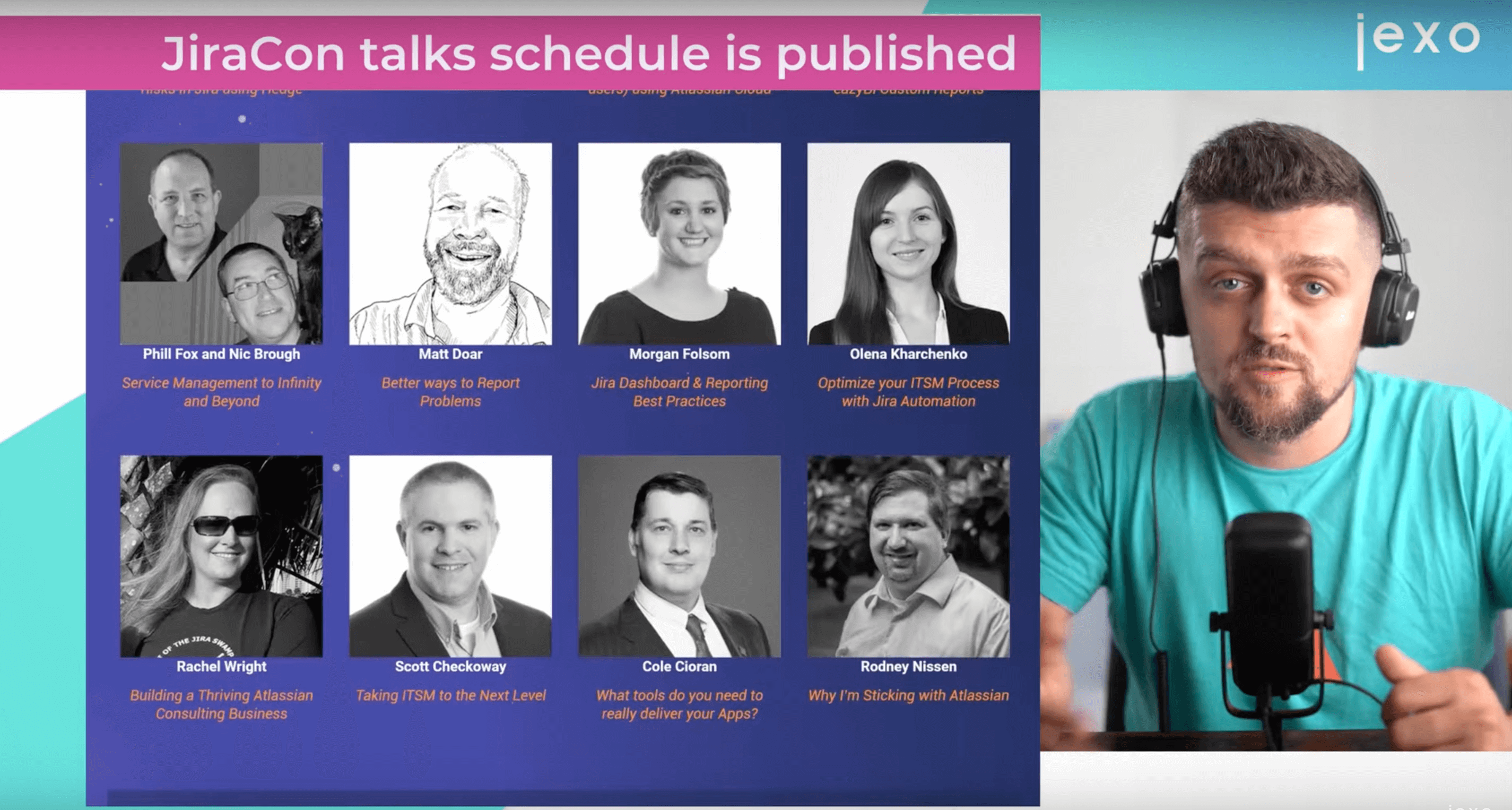 Atlassian News: JiraCon 2021 Speakers and lineup