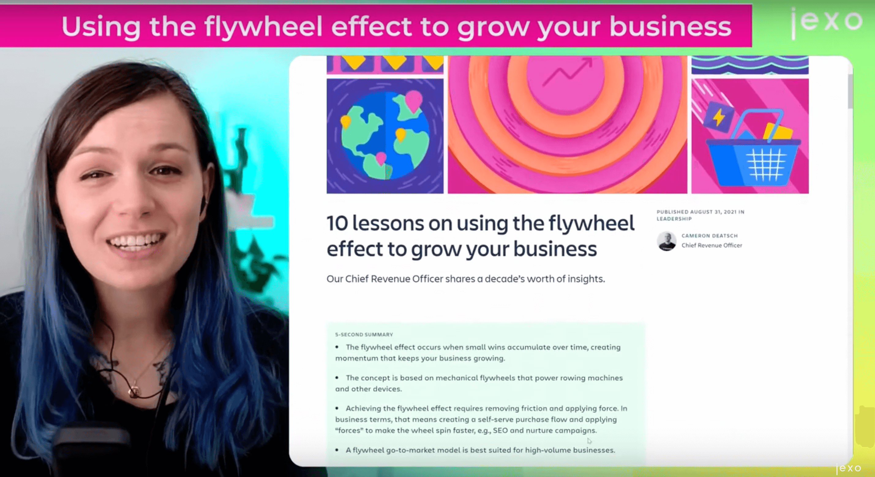 Atlassian Article of the week: Using the flywheel effect to grow your bussines