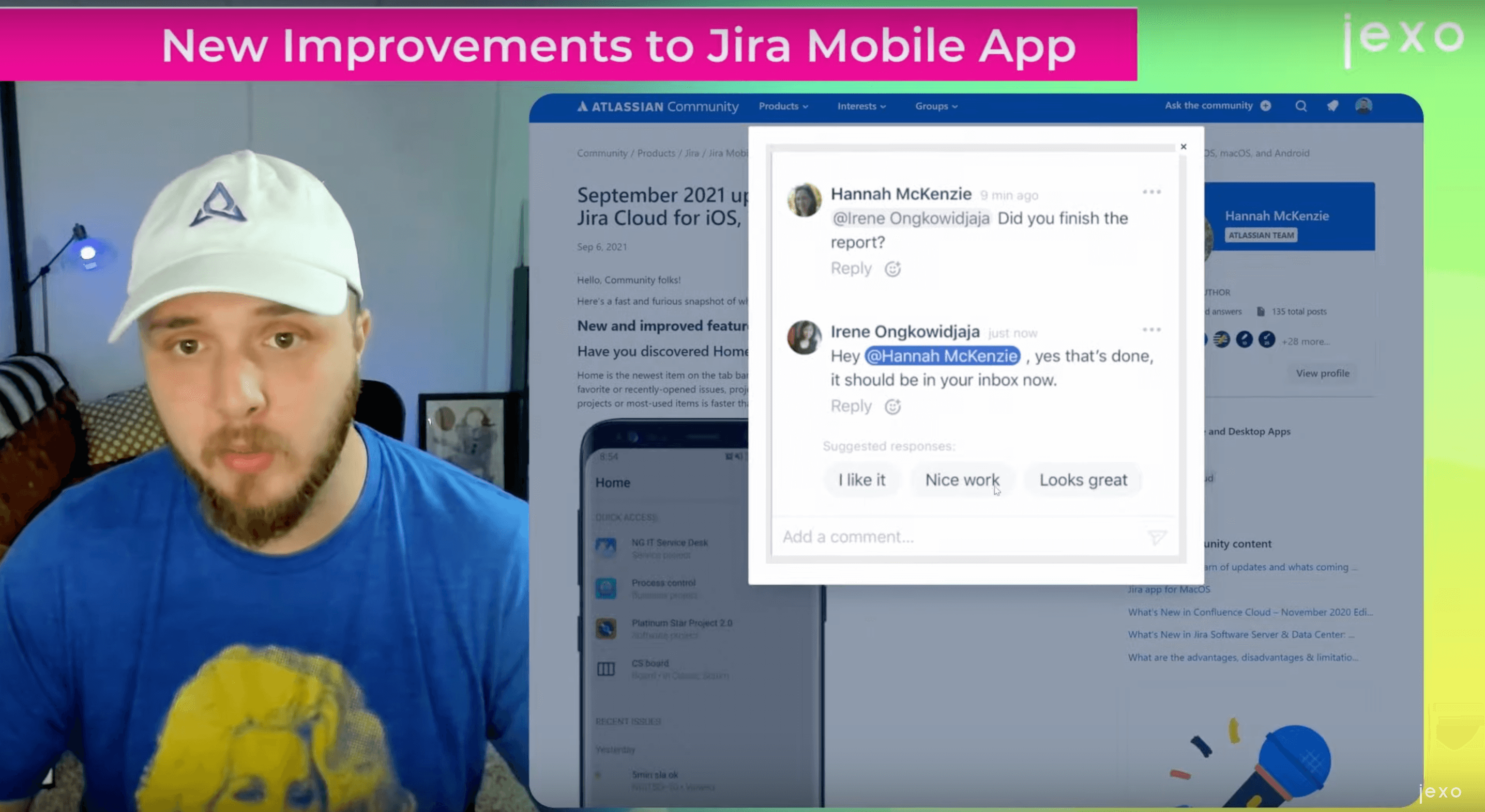 Atlassian News: Comment replies recommendation in Atlassian iOS apps