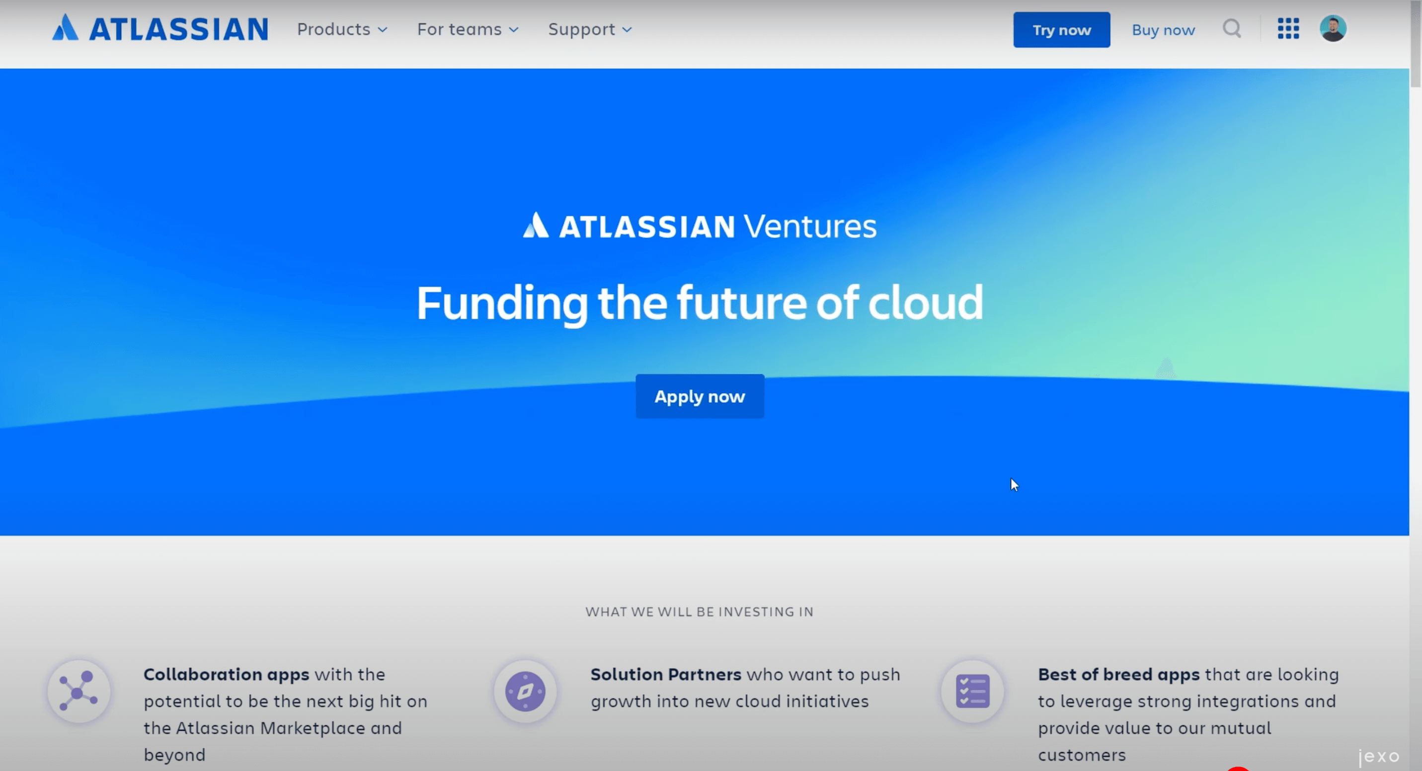 Atlassian ventures program can help you start on the digital marketplace