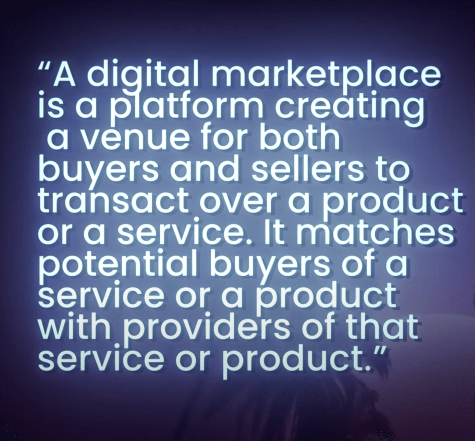 Definition: What is digital marketplace?
