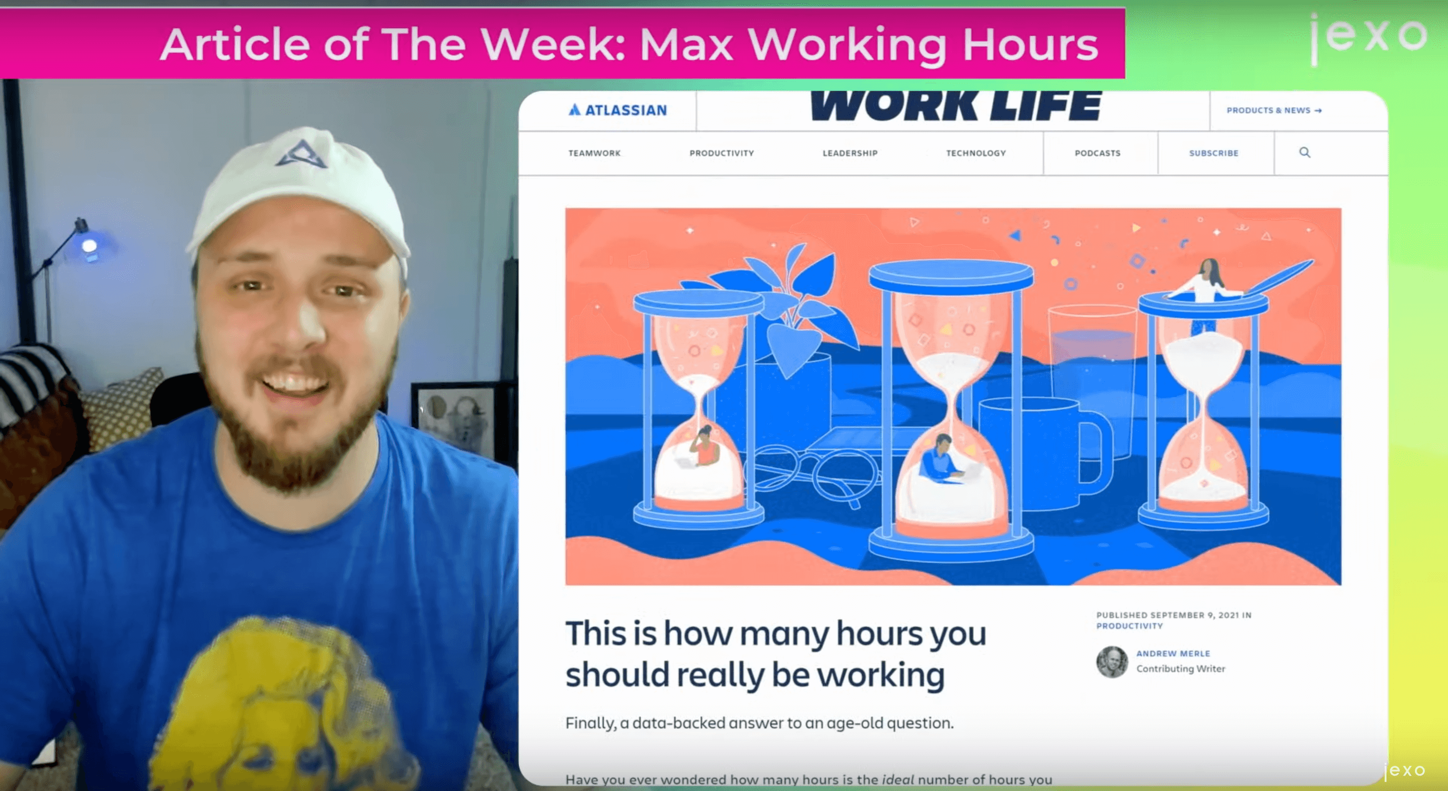 Atlassian article of the week: How many hours you should work?