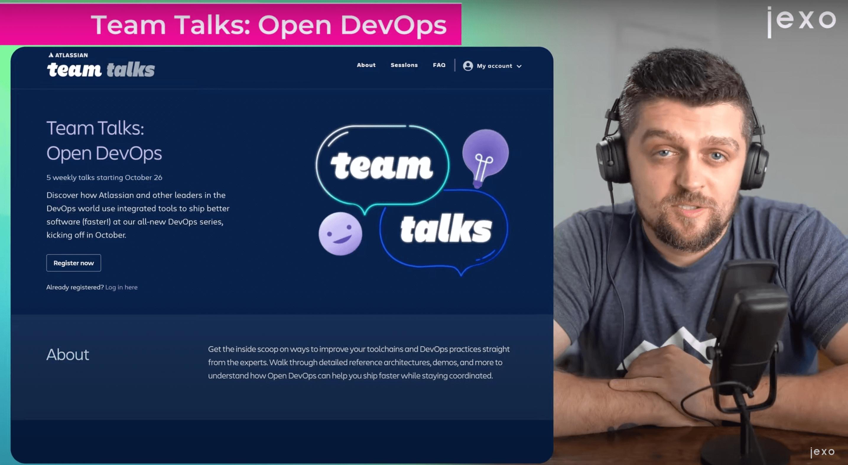 Atlassian news: New team talks - DevOps