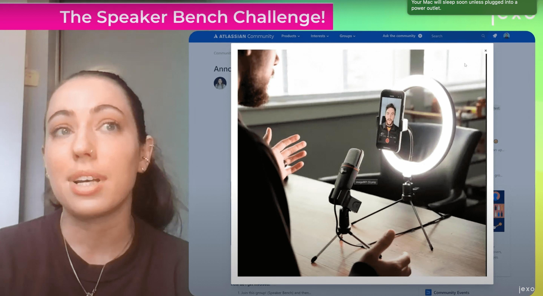 Atlassian news: The speaker bench community challenge